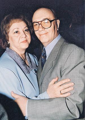 Леонид Вячеславович с женой Ниной Васильевной вместе больше 40 лет.